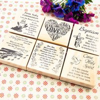 Wholesale 2015 NEW ARRIVAL VINTAGE CRAFT SCRAPBOOKING WOODEN STAMPS SIZE CM