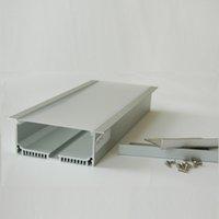 aluminium bar sizes - 2015 Hot Leds Special Offer v Led Bar Light Aluminium Profile x2 m Big Size Aluminum For Ceiling And Wall Good Quality