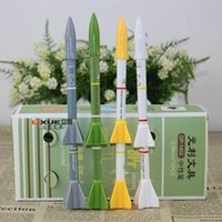 Cheap Wholesale-stationery missile firing model rockets creative gift ballpoint 1402 students LX