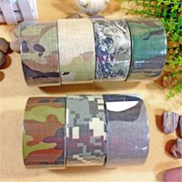 Wholesale 5cm m Camouflage duct tape for cable fixing box sealing or pipe strapping multifunction waterproof adhesive tape