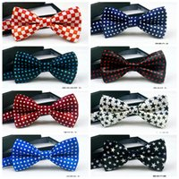 Wholesale 2016 New Fashion Jacquard Bowtie Weaves Classic Men s Bowties Suit Wedding Necktie Adjustable Bow Tie
