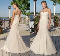beach bal - Luxury Vinatage Wedding Dresses Swetheart Crytsal Sheaht Sleeveless Chiffon Vestido De Novia Bridal Dress Bal Long Gowns Beach ZYY
