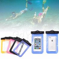 Wholesale Waterproof Bag Underwater Pouch Dry Case Cover For iPhone Cell Phone Samsung order lt no track
