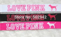 Wholesale New popular LOVE PINK Style Phone Lanyard Key Chain Neck Strap lanyard small