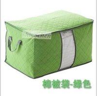 Wholesale Lady Duvet Pillow Blanket Bedding clothes Closet bag travel storage bags Fashion buggy Sundry bag organizer Tidy Case Clothing Box A142