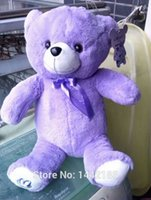 Wholesale Annual lavender bear charging hot water bag Warm hands treasure can unpick and wash