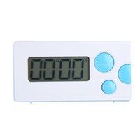 Wholesale Blue New Mini LCD Digital Cooking Kitchen Countdown Timer Alarm YGH SGG