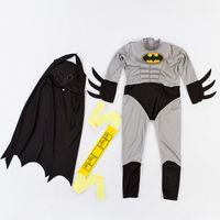 Wholesale Boys Muscle Batman Costume Superhero Halloween fantasia Christmas carnival anime cosplay clothes fancy dress for kids children