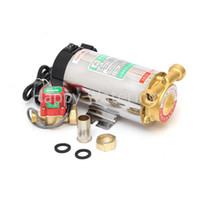 automatic gas pump - Household Automatic Gas Water Heater Solar Water Pressure Booster Pump W Pressure Pumps Outlet