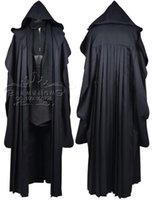 Wholesale Star Wars Darth Maul Tunic Robe Uniform star wars Cosplay Costume Linen Version for