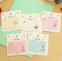 note pad printing - Cute kawaii Romantic memo pad paper sticker sticky notes cute post it papelaria stationery school supplies
