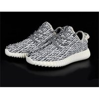 Cheap Best Selling KANYE WEST X A&D YEEZY 350 BOOST MEN RUNNING SHOES sneakers breathable shoes Y-3 Sports Net drive shoes Free shipping