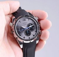 Wholesale 4G GB G P W5000 Waterproof Spy Watch Camera mini DV IR Night Vision DVR by DHL