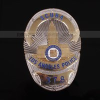 ares art - Ares LAPD of Losangeles golden badge badge badge souvenir badge America