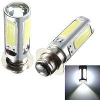 Wholesale Lights For Track Bikes - High Quality White COB LED for ATV Car Motor Bike Headlight Bulb Fog Light Lamp H6M PX15d P15D25-1 order<$18no track
