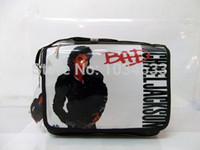 bad bags - Michael Jackson BAD World Tour Golden History Tour Smile PVC notebook BAG amp Shoulder Messenger BAG