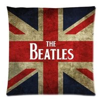 beatles pillow - Personalized Hot Band The Beatles for Zippered Throw Pillow Cushion x18 inches TWO side