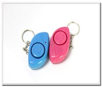 Wholesale 2014 NEWEST Mini Alarm Key Chain Security Spotlight anti robbery for Personal Body express shipping