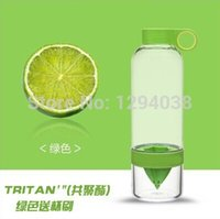 Wholesale New Bpa Free Tritan Lemonade Glass Cup Portable Fruit Juice Glass Magic Dynamic Bottle Straw For Children PC