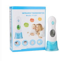 Wholesale for Baby Child in Digital LCD Infrared baby Thermometer Ear Forehead Family Baby electronic thermometer