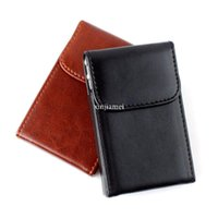 credit card - New Fashion Soft Leather Business Name ID Credit Card Wallet Case Bag Holder
