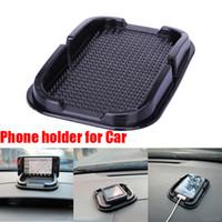 anti slipping mat - Multi functional car Anti Slip pad Rubber Mobile Phone Shelf Antislip Mat For GPS MP3 IPhone Cell Phone Holder iphone samsung Free ship