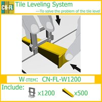 Wholesale CN FL W1200 Tile leveling system For the flooring make the tile and floor level home improvement tools