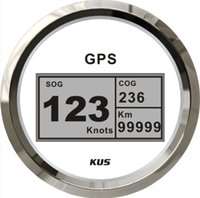 Wholesale Best price mm digital GPS speedometer speedo for marine boat yacht white faceplate