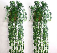 artificial ivy - Artificial Ivy Leaf Garland Plants Vine Fake Foliage Flowers Home Decor