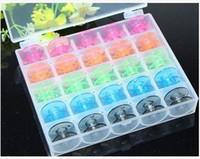 Wholesale 25pcs Plastic Empty Bobbins Case For Singer Sewing Machine