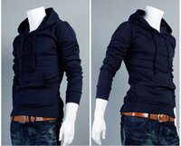 Wholesale New Autumn Slim Fit Men Hoodies Mens Sports Casual Sweatshirt Jackets Outerwear Fashion Men s Pullover Color M XXL