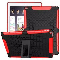 Wholesale Football Stripe Robot Spider Pattern Design PC TPU Combo Case Protector Case for iPad Pro Stand ipad Tablet PC cover