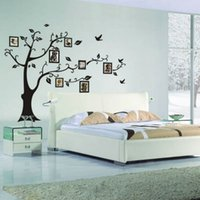 Wholesale photo frame memory tree classical family wall decals ZooYoo2141L decorative wall decor removable pvc wall stickers
