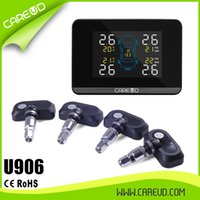 audi safe - 2015 Newest Tire safe LCD Wireless Tire Pressure Monitor System TPMS With Cigarette Charger Internal Sensor Hot Sale In Russia