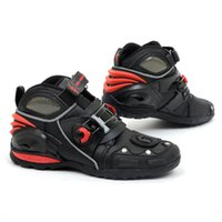 Wholesale Pro biker A09002 Motorcycle Sports Boots Probiker Speed Bikers Motocross Racing Boot Motorbike Moto Cross Sidi Shoes Men Off road MX ATV