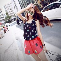 Wholesale West spring and summer light and small can drape good suction eye mask pattern with chiffon vest