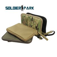 airsoft pistol case - 4 Color Nylon Airsoft Tactical Hand Gun Holster Durable Carry Bag Pistol Magazine Case Hunting Equipment Multifunctional Bag order lt no tra