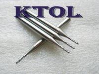 accuracy glass - Accuracy pc mm PCB Cutting Tool Corn Teeth Cutter Engraving Carbide PCB End Mill Bit in Fiber Glass HDF Wood Shell