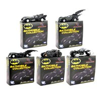 action figures batmobile - 5pcs set DC Tomica Limited TC Batman Metal Batmobile PVC Action Figure Collectible Model Toys frozen