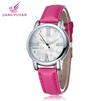 Cheap Antique women casual watch Best Women's Quartz-Battery leather strap watch