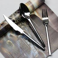 amefa cutlery - Amefa stainless steel west tableware stainless steel spoon steak knife solid handle knife spoon cutlery