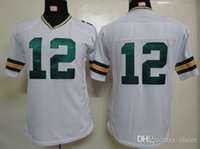packer jersey - Kid s Packers Rodgers White American Football Jerseys Allow Mix Order