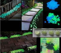 glow stone - Newest Decorative Gravel For Your Fantastic Garden or Yard pack Glow in the Dark Pebbles Stones for Walkway Eight colors
