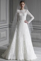 beautiful inspiration - Beautiful Lace Wedding Dresses With Long Sleeve Floor Length Inspirations Hot Sale Wedding Gowns For Bride