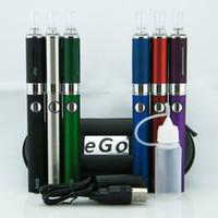 Multi evod starter kit - MT3 Starter Kits EVOD Atomizer mah mah mah EVOD Battery for E Cigarette Electronic Cigarette Cig Kit in Case Various Color Instock