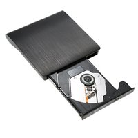 Wholesale Portable Slim USB BD ROM External Drive D Blu Ray Burner Writer Player VCD CD DVD ROM Optical Bay for Linux Windows Mac PC