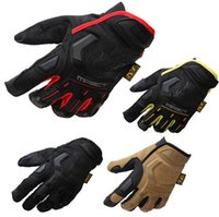 Wholesale New Mechanix Wear M Pact Military Tactical Army Combat Shooting Bicycle Motorcross Paintball Full Finger Gloves