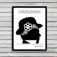 art christmas ideas - Idea Quote Canvas Art Print Poster Wall Pictures For Office and Home Decoration Frame not include