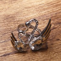 Wholesale New Arrival Silver Wedding Party Decoration Crystal Swan Napkin Rings Holders