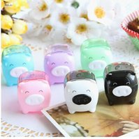 Wholesale Fashion double holes cosmetic sharpener Sharpener for cosmetic brush eyeliner pencil